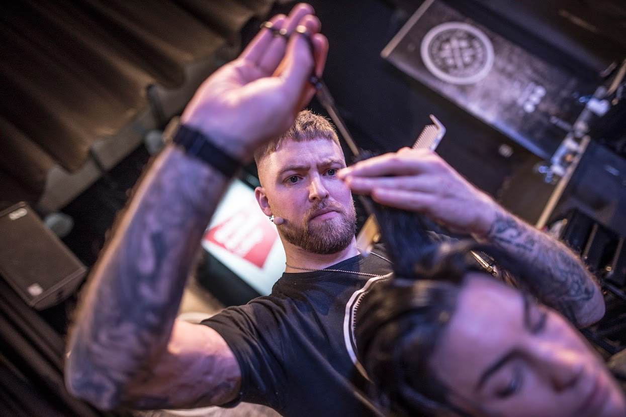 Andy Cutting Hair