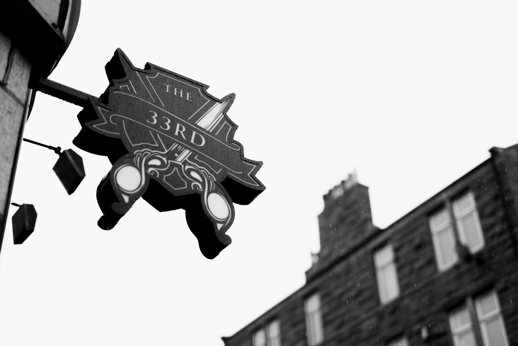 Our Aberdeen Shop Sign